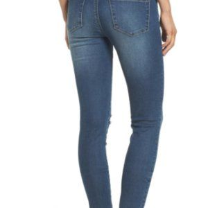 Articles of Society Ripped Crop Skinny Jean